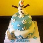 Torta de Olaf